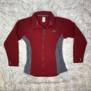 North Face Jacket. Red. SZ LG